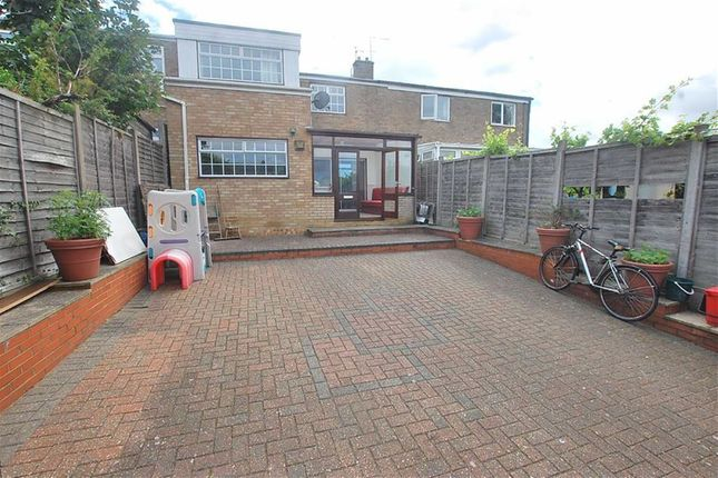 Thumbnail End terrace house to rent in Grace Way, Pin Green, Stevenage, Herts