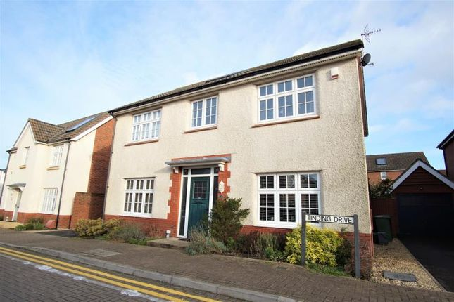Thumbnail Detached house to rent in Tinding Drive, Stoke Gifford, Bristol
