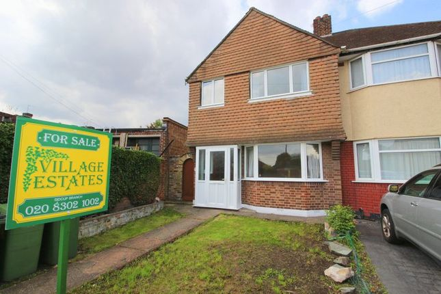 Thumbnail Semi-detached house for sale in Sparrows Lane, New Eltham
