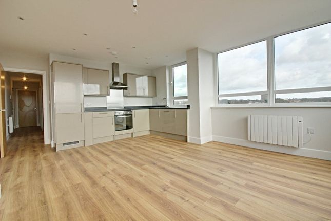 Thumbnail Flat to rent in St Geroges Way, Stevenage, Hertfordshire