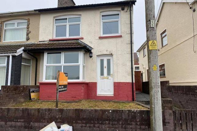 2 bed semi-detached house to rent in Oak Street, Gilfach Goch -, Porth CF39