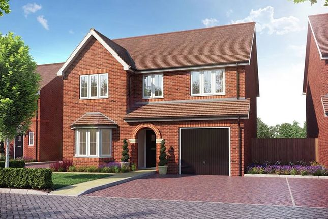 "Thumbnail Detached house for sale in ""The Pebworth"" at Millars Close, Main Street, Grendon Underwood, Aylesbury"