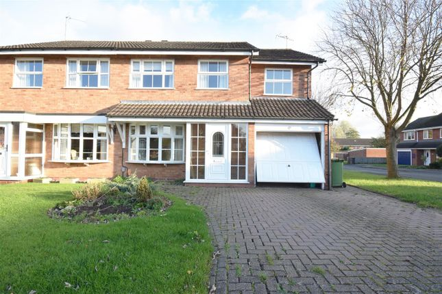 Thumbnail Semi-detached house for sale in Avonbrook Close, Stratford-Upon-Avon