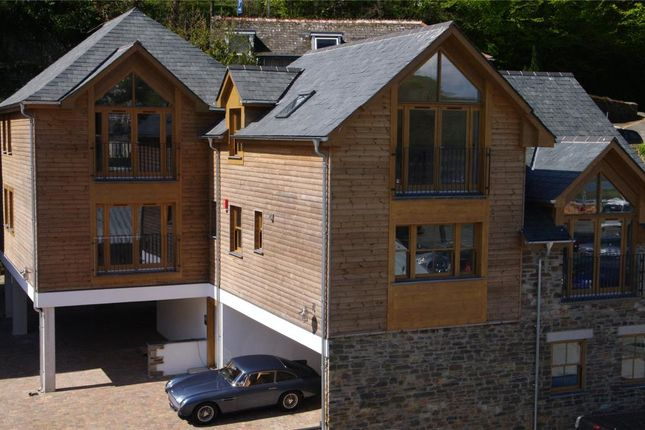 Thumbnail Flat for sale in The Creekside, West Looe, Cornwall