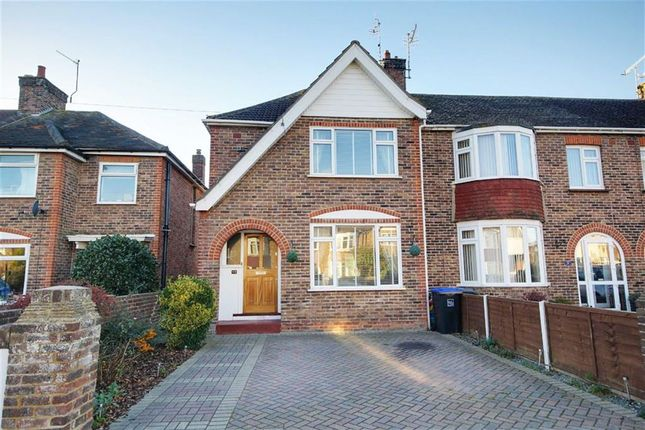 3 bed end terrace house for sale in Shandon Road, Broadwater, Worthing, West Sussex