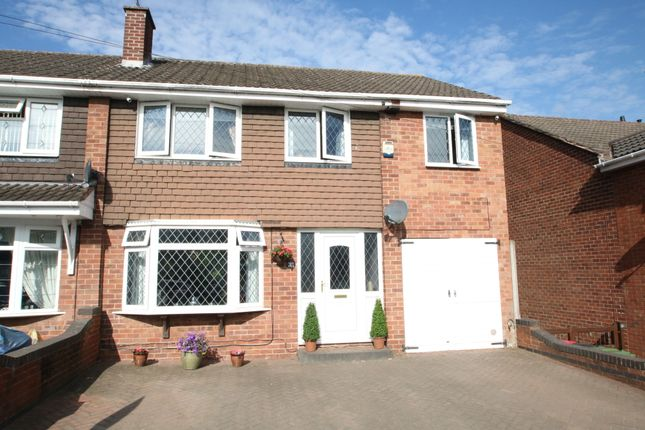 Thumbnail Semi-detached house for sale in St. Leonards View, Polesworth, Tamworth