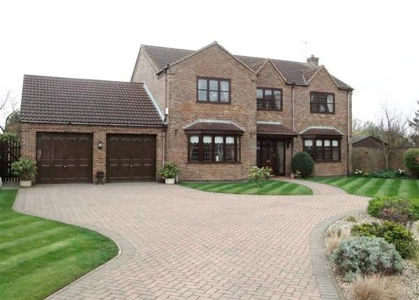 Thumbnail Detached house for sale in Leaburn Road, Messingham, Scunthorpe