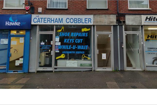 Thumbnail Retail premises to let in 81, Croydon Road, Caterham