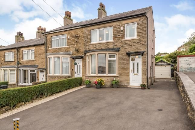 Thumbnail End terrace house for sale in Well Royd Avenue, Halifax, West Yorkshire