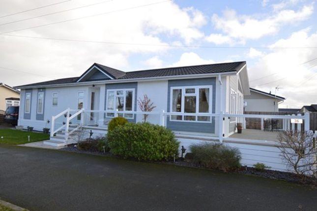 Thumbnail Detached bungalow for sale in Warrant Road, Stoke On Tern, Market Drayton