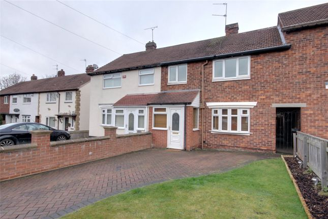 Thumbnail Terraced house to rent in Fairfield Avenue, Ormesby, Middlesbrough