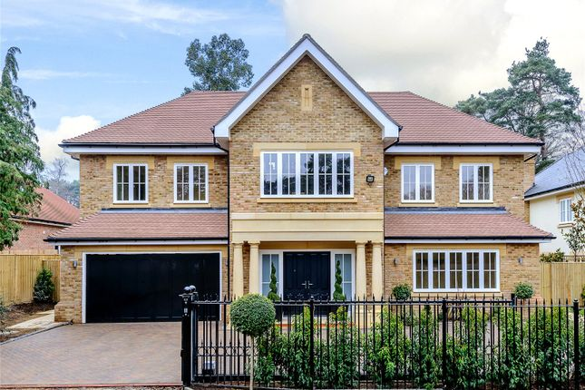 Thumbnail Detached house for sale in Ravensdale Road, Ascot, Berkshire