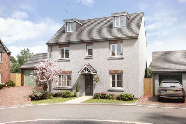 "Thumbnail Detached house for sale in ""The Lutyens"" at Gipsy Hill Lane, Exeter"