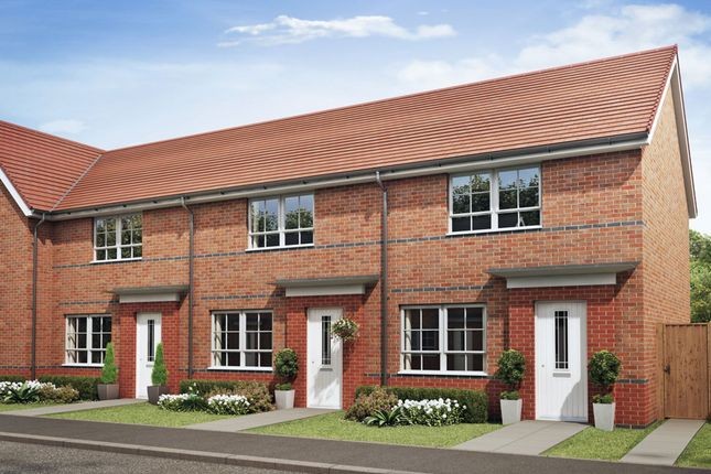 "Thumbnail Terraced house for sale in ""Roseberry"" at Cobblers Lane, Pontefract"