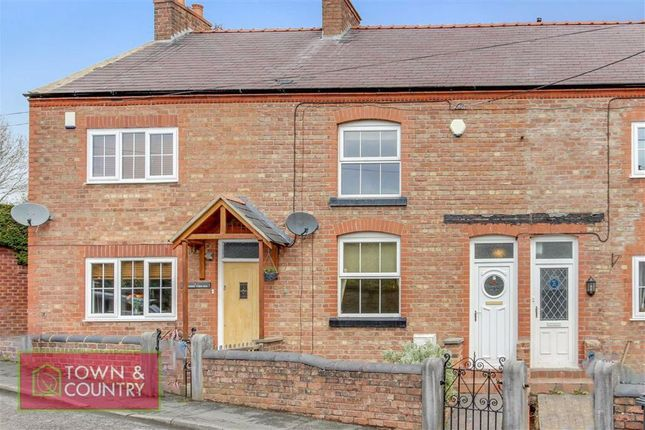 2 bed terraced house for sale in Leasowe Terrace, Village Road, Northop Hall, Nr Mold, Flintshire CH7