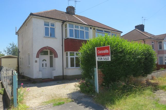 Thumbnail Semi-detached house for sale in Teewell Hill, Staple Hill, Bristol