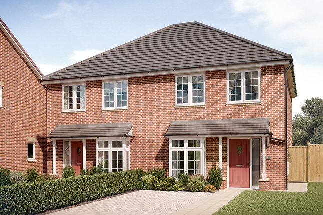 "Thumbnail Semi-detached house for sale in ""The Kilmington"" at Chilton, Ferryhill"