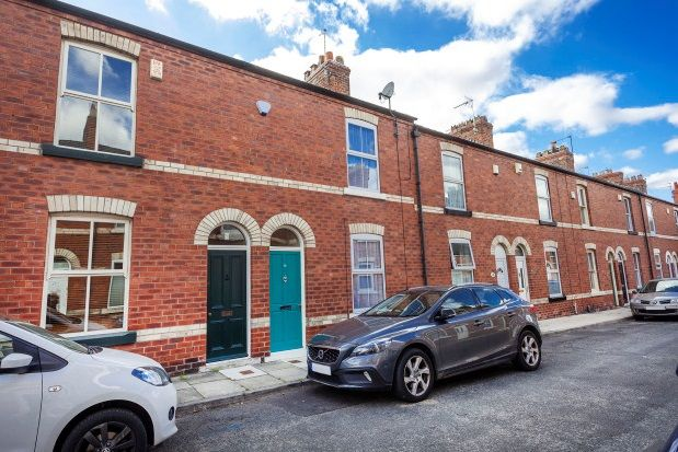 Thumbnail Terraced house to rent in Rosslyn Street, York