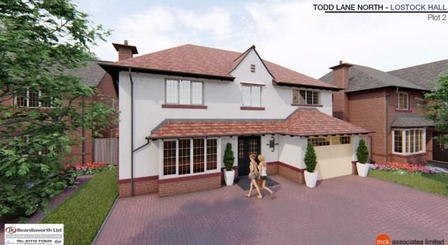 Thumbnail Detached house for sale in Sherwood Court, Todd Lane North, Lostock Hall, Preston