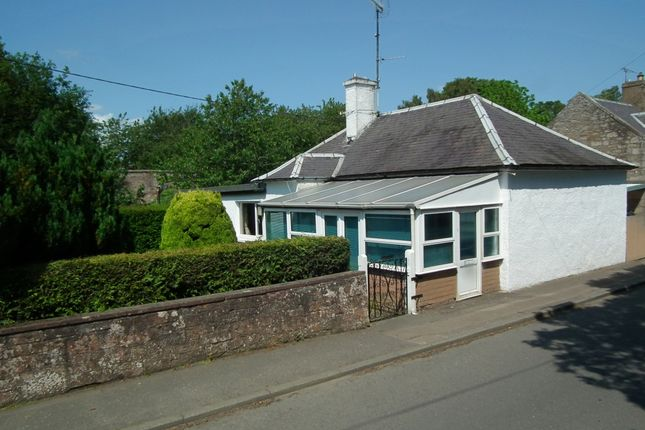 Thumbnail Detached bungalow for sale in Station Road, Duns