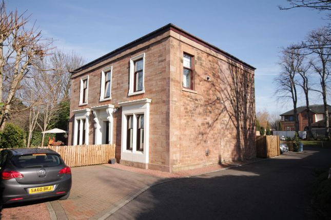 Thumbnail Flat for sale in Silverwells Drive, Bothwell, Glasgow
