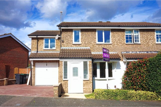 Thumbnail Semi-detached house for sale in Nash Croft, Gravesend