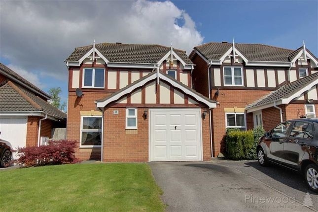 Thumbnail Detached house to rent in Adrians Close, Mansfield