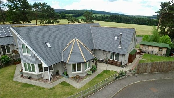 Thumbnail Detached house for sale in Parkhouse Close, Tarland, Aberdeenshire