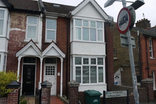 Thumbnail Shared accommodation to rent in Hollingbury Crescent, Brighton
