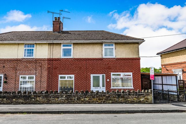 Thumbnail Semi-detached house for sale in Markham Crescent, Staveley, Chesterfield