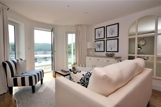 Thumbnail Flat for sale in Riverside View, Station Road, Looe, Cornwall