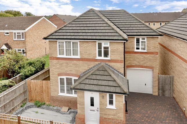 Thumbnail Detached house for sale in Rowan Court, St. Neots Road, Sandy, Bedfordshire