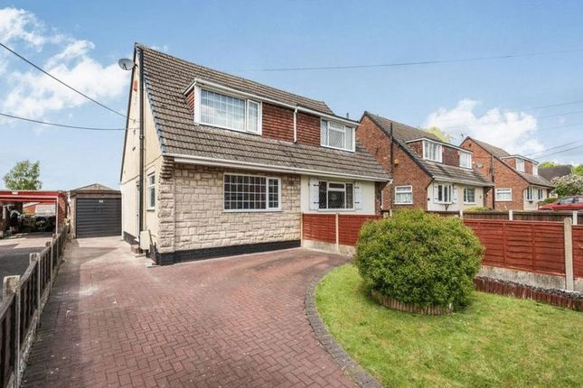 Thumbnail Semi-detached house for sale in Goms Mill Road, Longton, Stoke-On-Trent