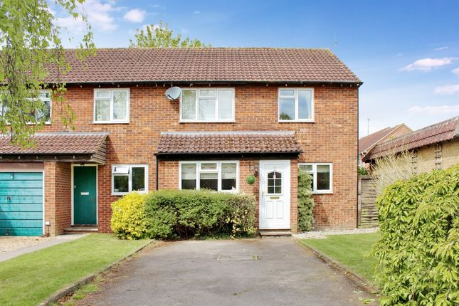 Thumbnail End terrace house for sale in Atherton Place, Lambourn, Hungerford