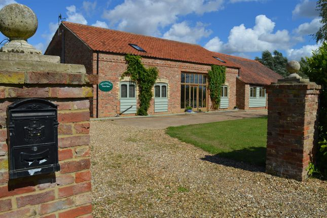 Thumbnail Barn conversion for sale in Lords Bridge, Islington, King's Lynn