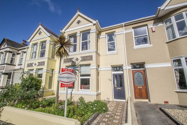 Thumbnail Terraced house for sale in Peverell Park Road, Peverell, Plymouth