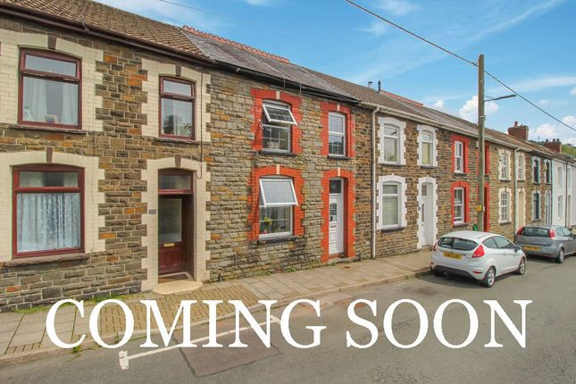 Thumbnail Terraced house for sale in Standard View, Ynyshir, Porth