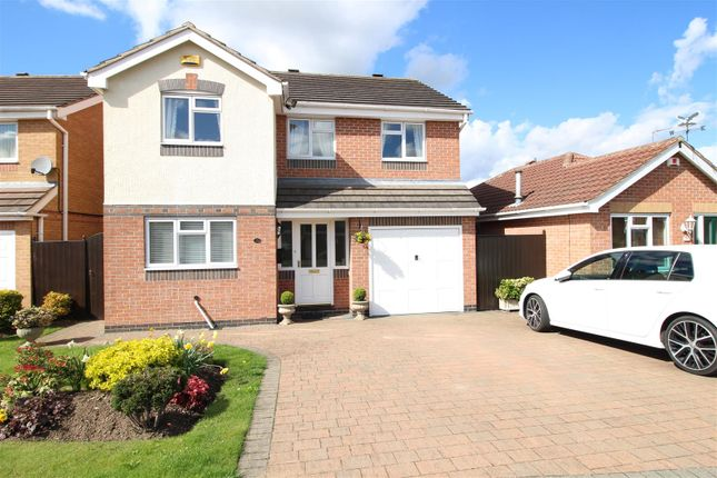 Thumbnail Detached house for sale in Allison Gardens, Chilwell, Nottingham
