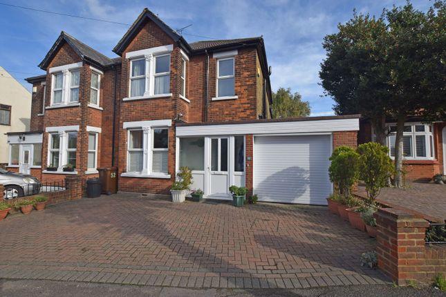 Thumbnail Semi-detached house for sale in Twydall Lane, Rainham