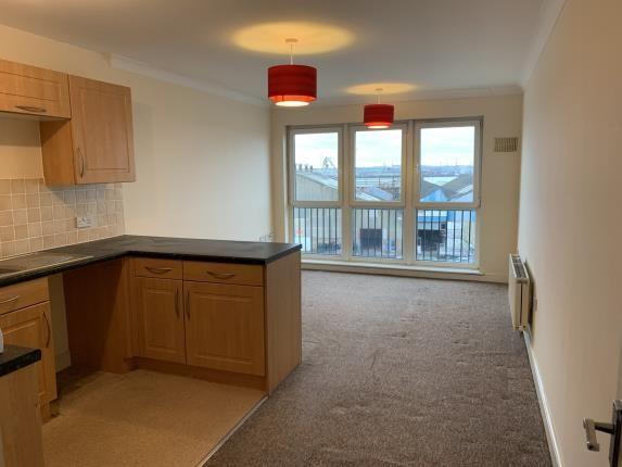Reception Room of Fisgard Court, Admirals Way, Gravesend, Kent DA12