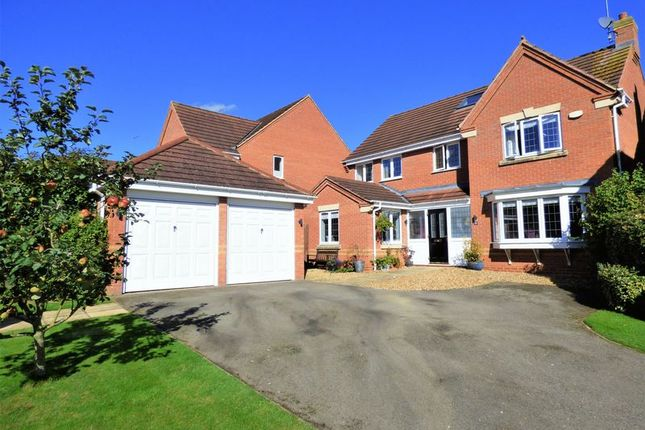 Thumbnail Detached house for sale in Spartan Close, Wootton, Northampton