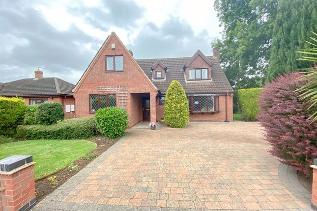 Thumbnail Detached house for sale in Isle Close, Crowle, Scunthorpe