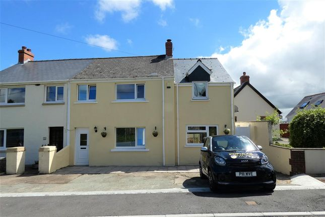 Semi-detached house for sale in Silver Stream, Freystrop, Haverfordwest