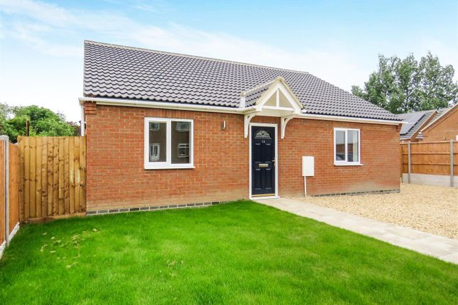 Thumbnail Detached bungalow for sale in Marriotts Close, Ramsey Mereside, Huntingdon