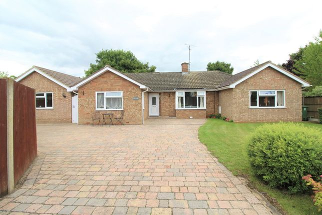 Thumbnail Detached bungalow for sale in Ermine Close, Stamford