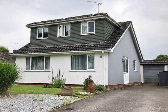 Thumbnail Detached bungalow for sale in Rectory Avenue, Corfe Mullen, Wimborne