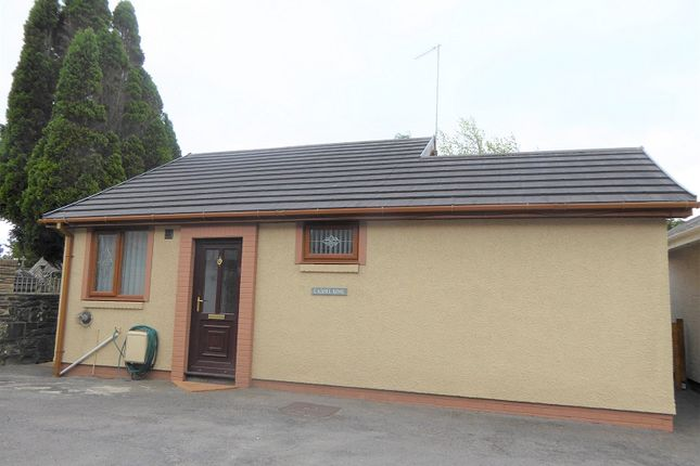 Thumbnail Bungalow for sale in Bettws, Bridgend, Bridgend.
