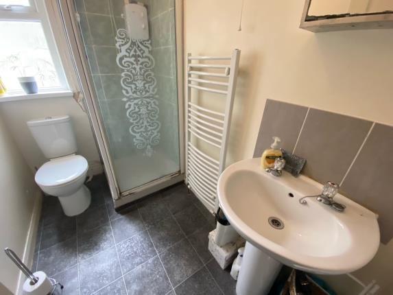 Shower Room Two of Llantrisant Street, Cardiff, Caerdydd CF24
