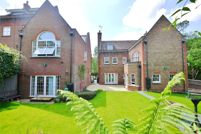 Thumbnail Detached house for sale in Vaughan Williams Way, Warley, Brentwood, Essex