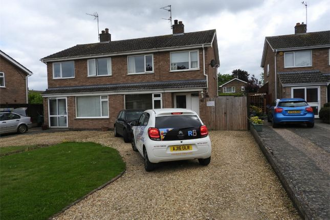 Thumbnail Semi-detached house to rent in Lindsey Road, Uffington, Stamford, Lincolnshire